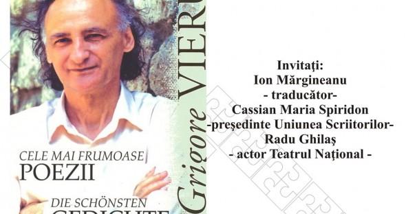 Cele Mai Frumoase Poezii Ale Lui Grigore Vieru