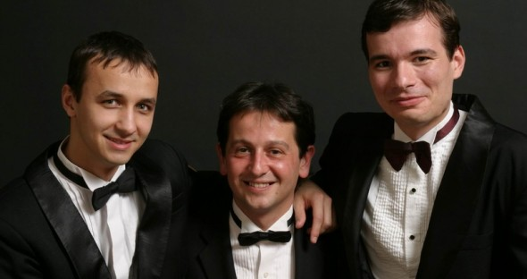 Romanian Piano Trio: Razvan Suma, Horia Mihail si Alexandru Tomescu