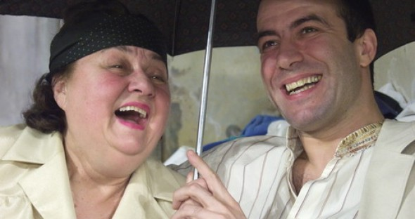 Tamara Buciuceanu & Serban Pavlu (sursa: comedie.ro)