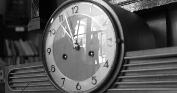 Trecerea timpului in anticariat